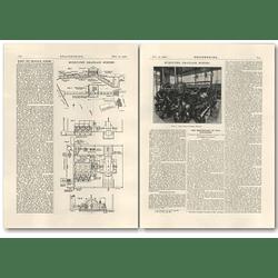 1926 Burnt Fen Drainage Scheme, Plans, Lark River