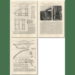 1926 Cast iron Concrete Bridge at Gmunden, Austria, Fritz Emperger
