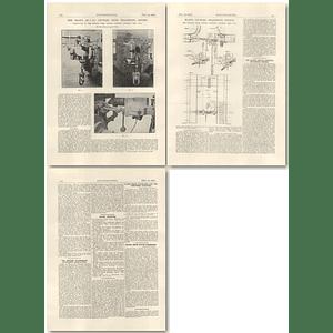 1926 Majex Coupler Transition Device, Buckeye, Cilumbus