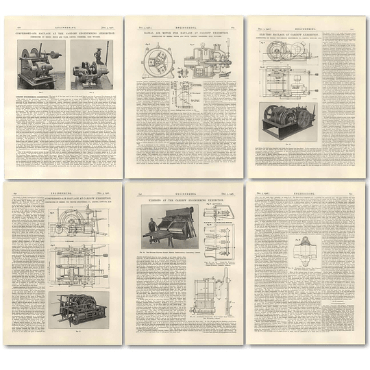 1926 Cardiff Engineering Exhibition 1 Compressed Air Haulage