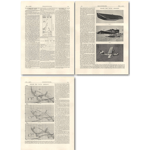 1926 Naval development of floats for aircraft