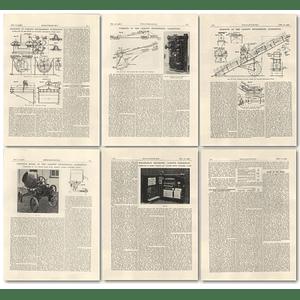 1926 Cardiff Engineering Exhibition 2 Fraser Chalmers sauerman excavator