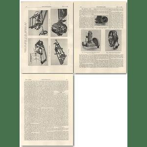 1926 Smithfield Show, Reaper Binder, Paraffin, Hot-Bulb Engines