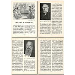 1964 The Little Marconi Case, Bird, Montagu - Article
