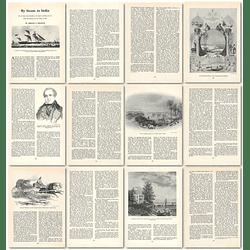 1964 Fast Flourishing Regular Steamship Service To India - Article