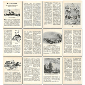 1964 Fast Flourishing Regular Steamship Service To India - Article