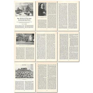 1964 Cape Of Good Hope Under The Dutch East India Company 1652 To 1795 - Article
