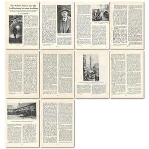 1964 British Miners And The Coal Industry Between The Wars - Article