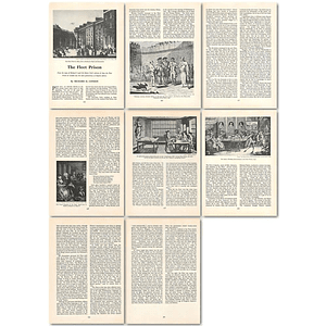 1964 The Fleet Prison In London, For English Debtors - Article