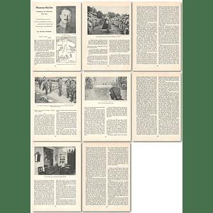 1964 Mannerheim, Marshall Of Finland, 1867 To 1951 - Article