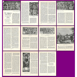 1964 The Judgement Of The Dead, The Sheep Divided From The Goats - Article