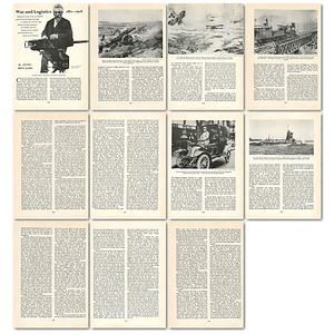 1964 War And Logistics, 1861 To 1918 - Article