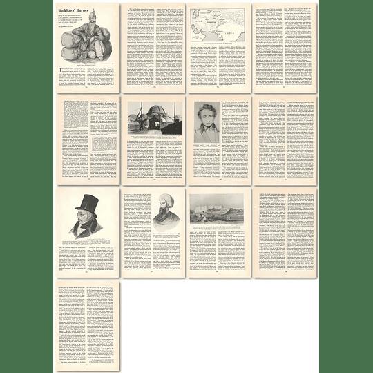 1964 Capt Alexander Burnes, Explorer Of Forbidden Cities - Article