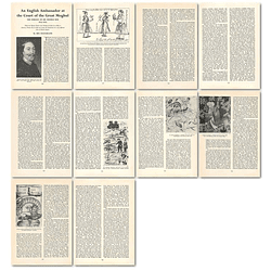 1964 Sir Thomas Roe, Ambassador At The Court Of The Great Moghul - Article