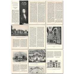 1964 Sir John Vanbrugh 1664 To 1726, Soldier Dramatist And Architect - Article