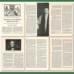 1964 Mccauley, The Archbishop And The Civil War - Article