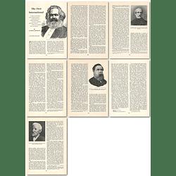 1964 Karl Marx, First International Working Men's Association - Article