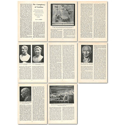 1963 The Conspiracy Of Catiline's Revolutionary Movement , Article