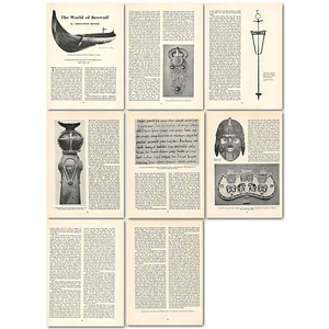 1963 Society Portrayed In Eighth Century Beowulf , Article