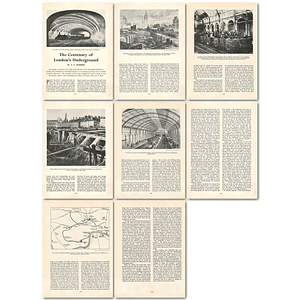 1963 The Centenary Of London's Underground , Article