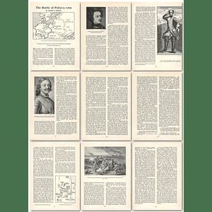 1963 The Battle Of Poltava, 1709 , Article