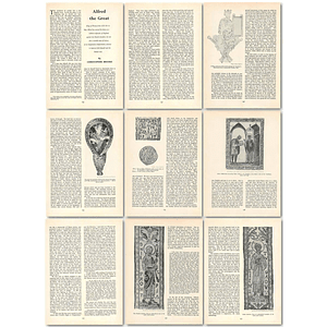 1963 Alfred The Great, King Of Wessex , Article