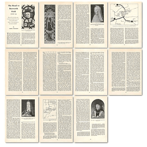 1963 The Road To Bosworth Field, August 14 85 , Article
