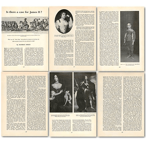 1963 Is There A Case For James II? , Article