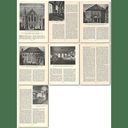1963 Nonconformist English Chapels, Architecture Of Dissent , Article