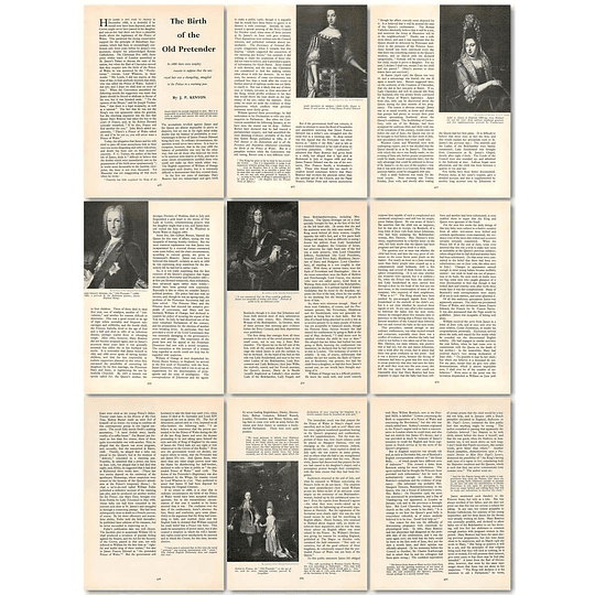 1963 The Birth Of The Old Pretender In 1688 , Article