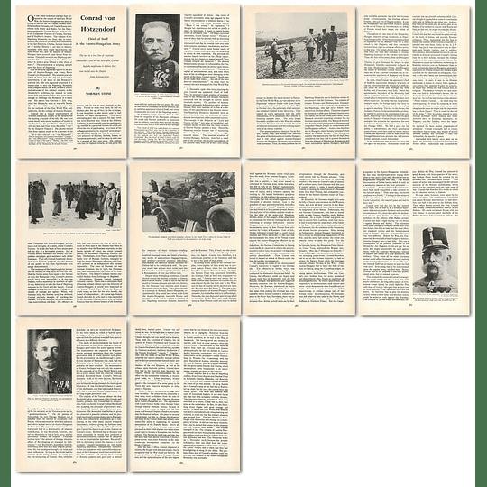1963 Conrad Von Hotzendorf, Austro-hungarian Army , Article