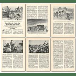 1963 Rebellion In Australia, Story Of The Eureka Stockade , Article