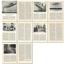 1963 Aeronautical Enthusiasm-the Rigid Airship , Article