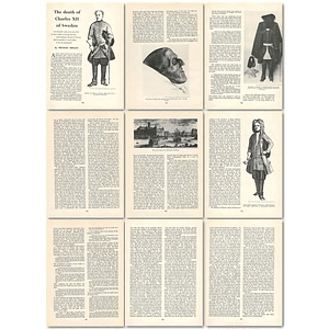 1963 The Death Of Charles Xii Of Sweden , Article