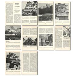 1965 Japanese Castles, By Pm Clayburn