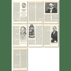 1965 Ferdinand Lasalle, 1825 To 1864, By Vivian Lewis