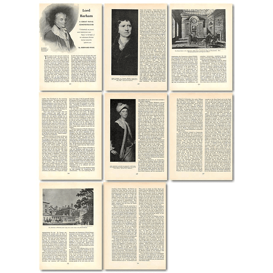 1965 Lord Barnham Great Naval Admin, By Bernard Pool