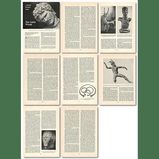 1965 The Celtic World, By David Francis Jones