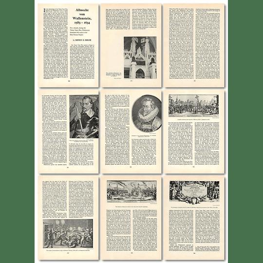 1965 Albrecht Von Wallenstein 1583 To 1634, By Sidney Ehler