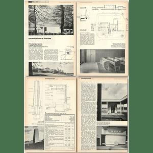 1962 Harlow Urban District Council Crematorium