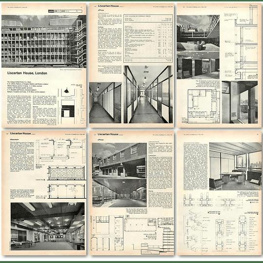 1962 Liscartan House London, For The Cadogan Settled Estates Co