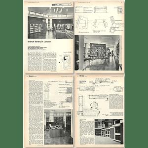 1962 Regents Park Branch Library, Robert Street, Compton Close