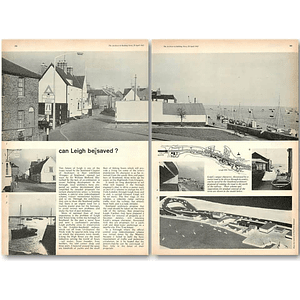 1962 The Future Of Leigh , Southend Prospect