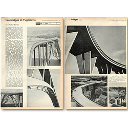 1962 Two Bridges In Yugoslavia, Slunj, Maslenica
