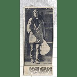 1950 Richard Dix, Junior, Leaving Detention Ward For Home