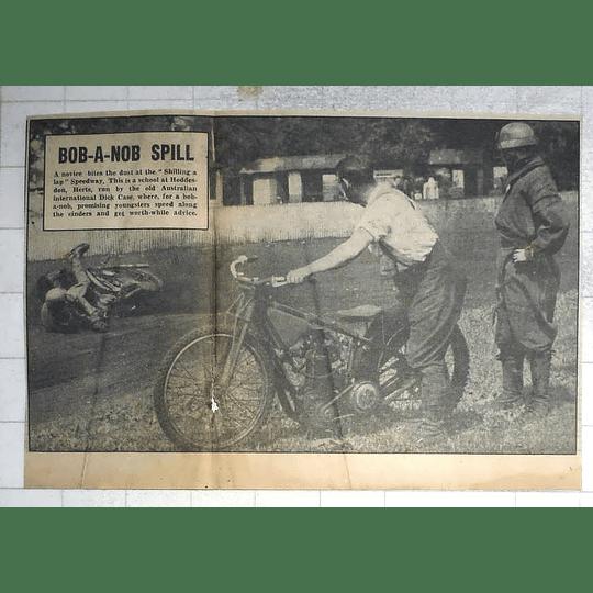 1950 Shilling A Lap Speedway School Hoddesdon Hertfordshire Dick Case