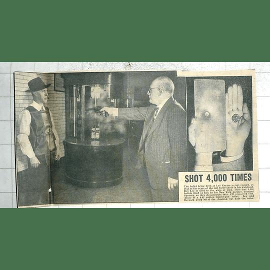 1950 New York Shooting Demo Bernard Spooner Shoots Leo Krause