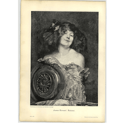 1902 Juana Romani ~ Salome Artwork