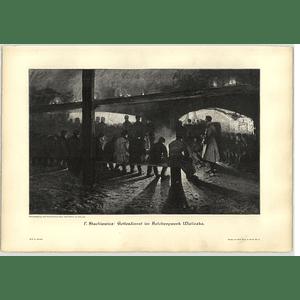 1902 P Stachiewicz ~ Wieliczka Saltworks Artwork