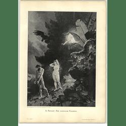1902 L Beroud ~ The Lost Paradise Artwork